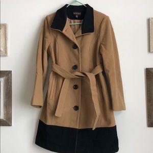 Dana Buchman colorblock coat